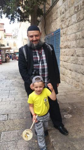 Давид с Мироном. Иерусалим, Старый город.